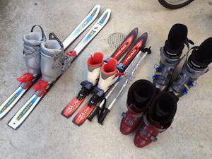 スキーセット リサイクルショップにて購入